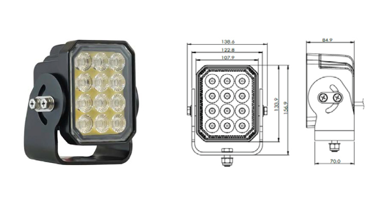 Vision X Europe Prospector 12 LED