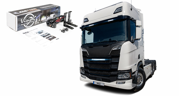 Vision X Europe Scania Xpr Halo 15