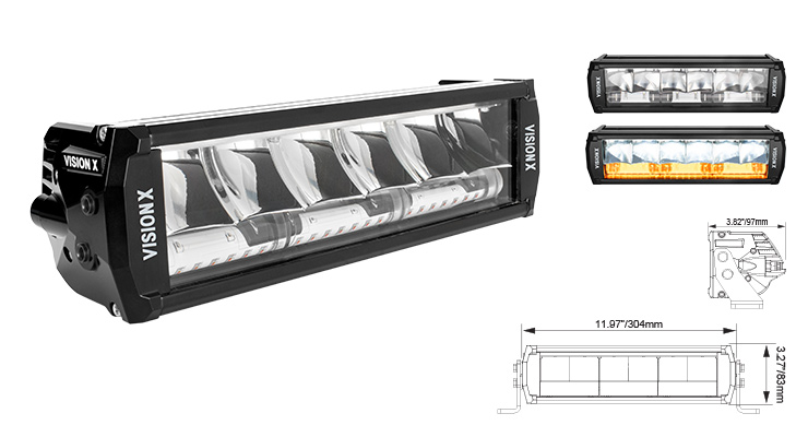 Vision X Europe Shocker LED Light